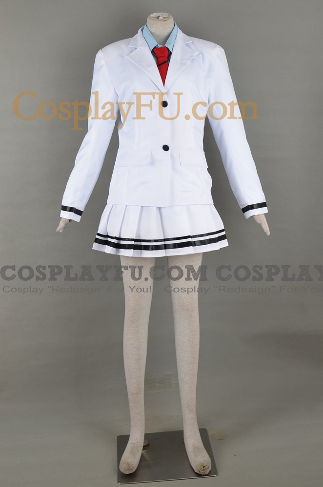 Erena Cosplay Costume (UTX White Uniform) from Love Live!