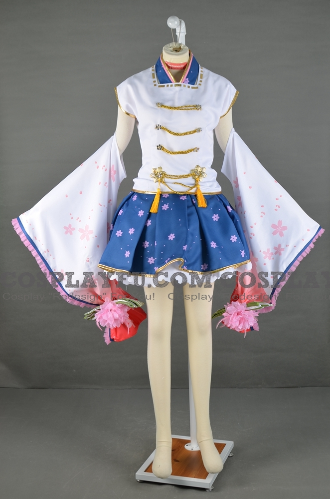Rin Cosplay Costume (March Ver) from Love Live!