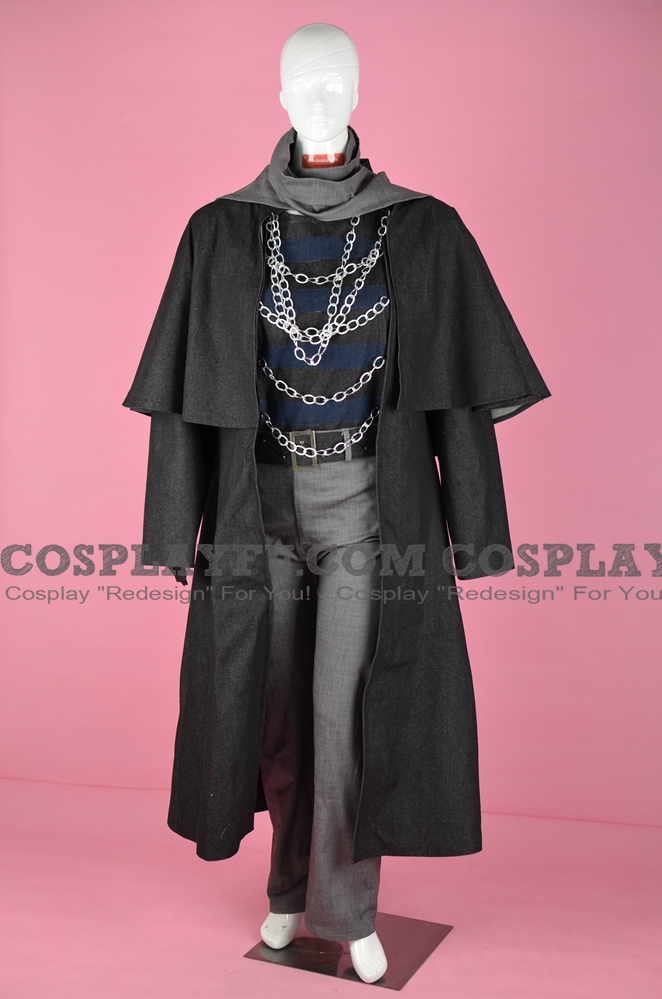 Father Gascoigne Cosplay Costume from Bloodborne