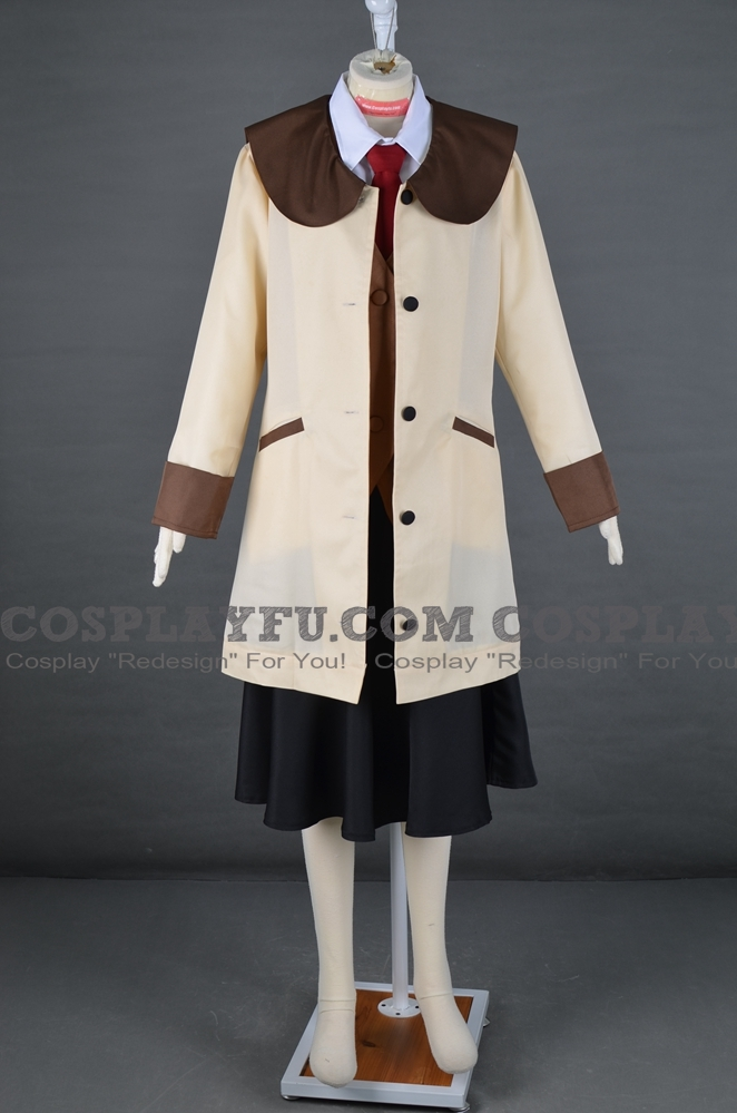 Yomiko Readmen Cosplay Costume from Read Or DIE