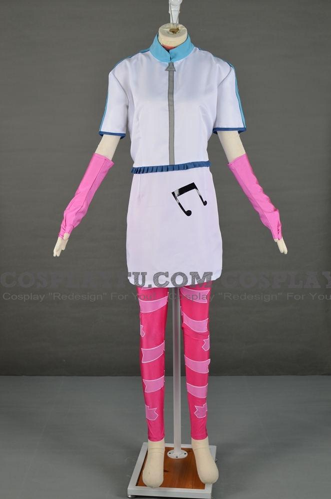 DJ Pon-3 Cosplay Costume from My Little Pony: Equestria Girls