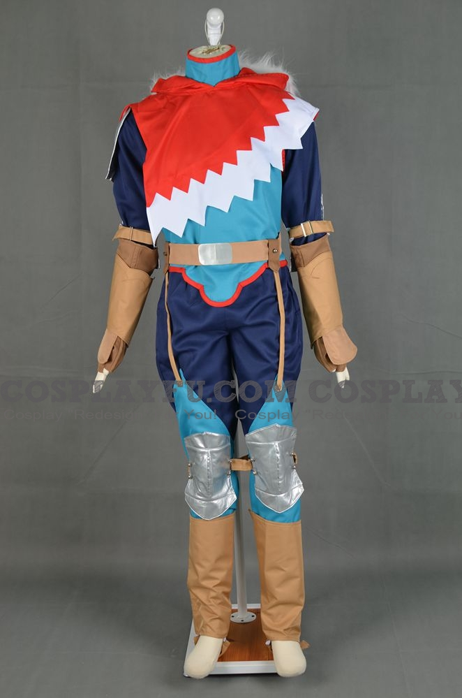 Protagonist Cosplay Costume (Male) from Monster Hunter Stories