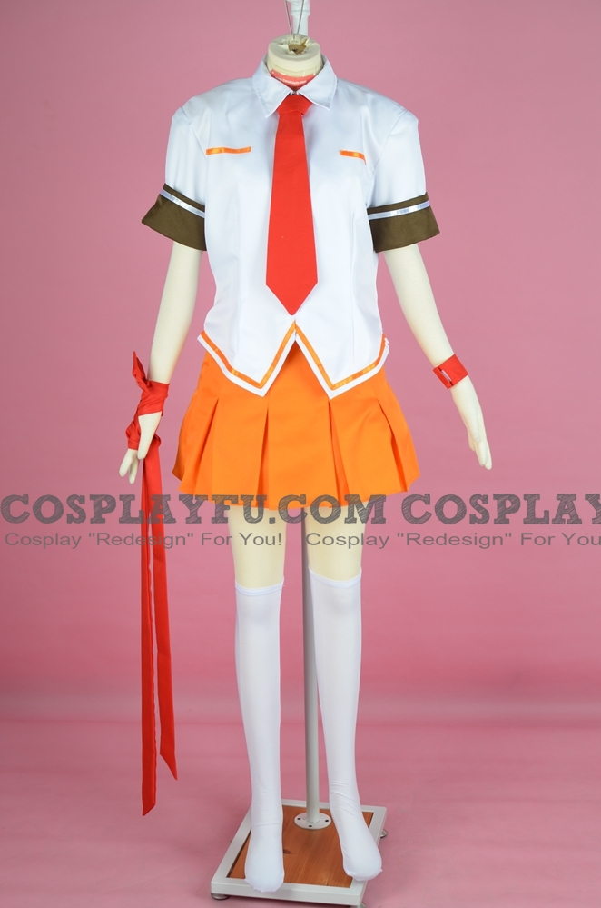 Heart Cosplay Costume from Arcana Heart