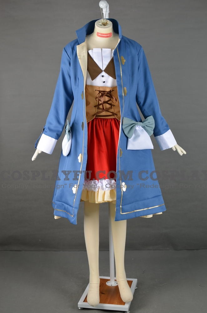 Sophie Cosplay Costume from Atelier Sophie The Alchemist of the Mysterious Book