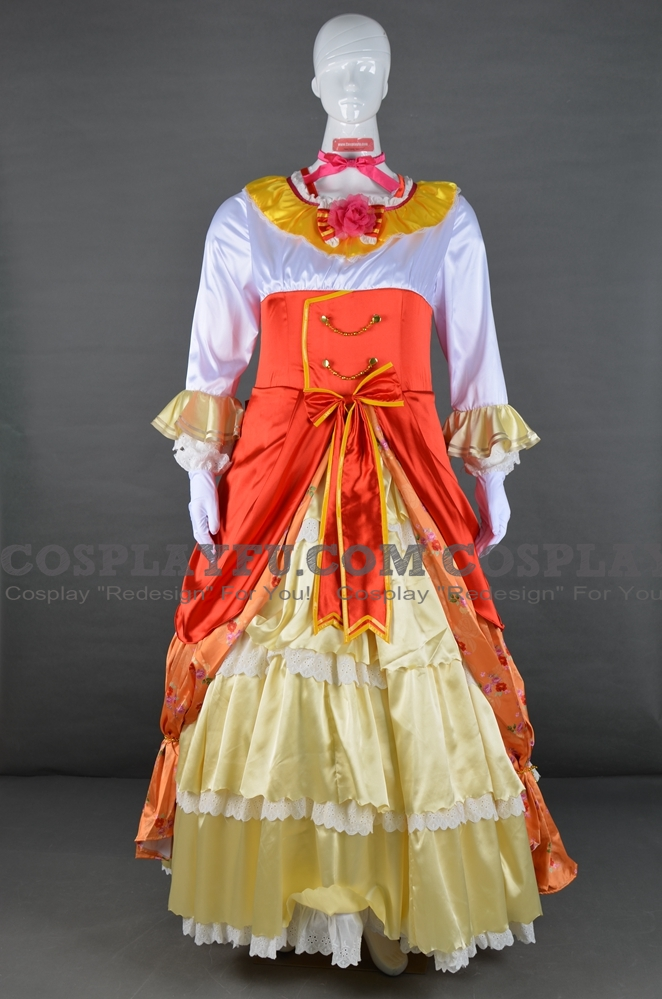 Honoka Cosplay Costume (Ball, Idolized) from Love Live