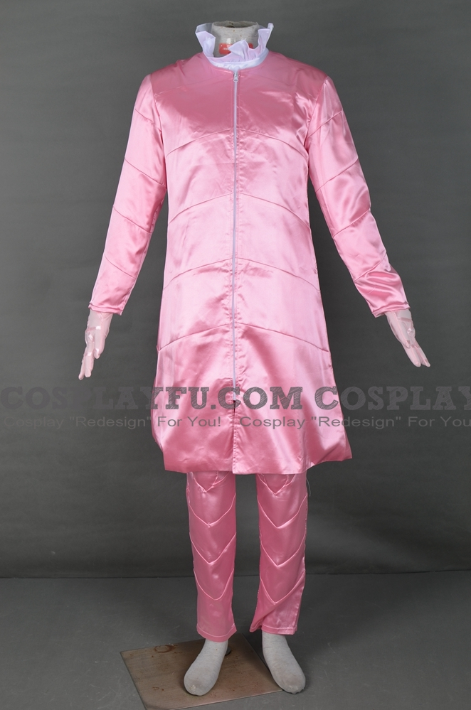 Funny Valentine Cosplay Costume (Pink) from JoJos Bizarre Adventure Part 7 Steel Ball Run