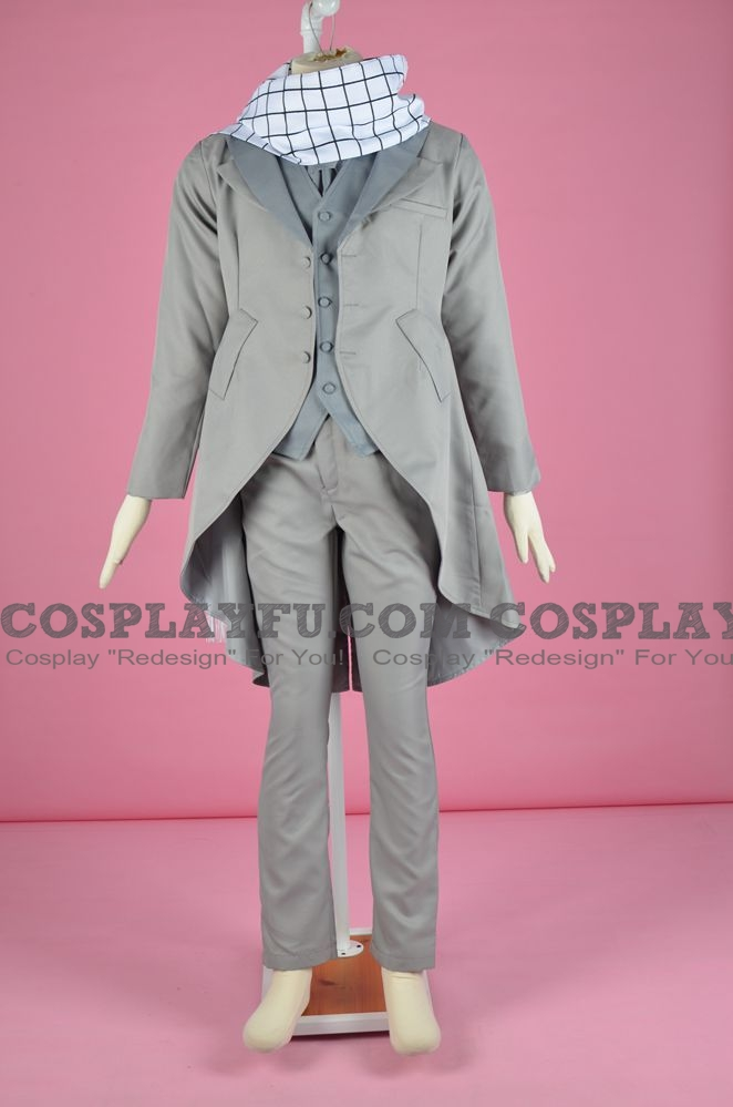 Natsu Cosplay Costume (Wedding) from Fairy Tail