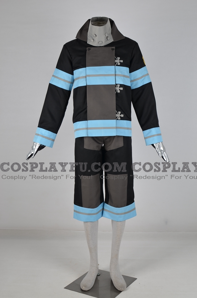 Fire Force Shinra Kusakabe Costume
