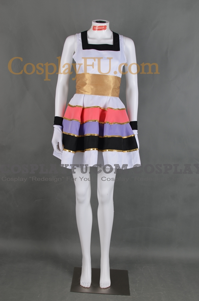 Cheria Cosplay Costume (Songstress) from Tales of Graces