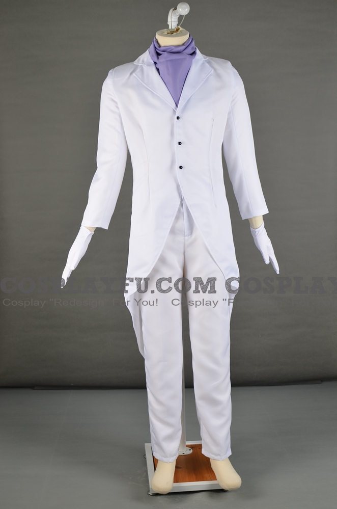 Masked Gentleman Cosplay Costume from Professor Layton