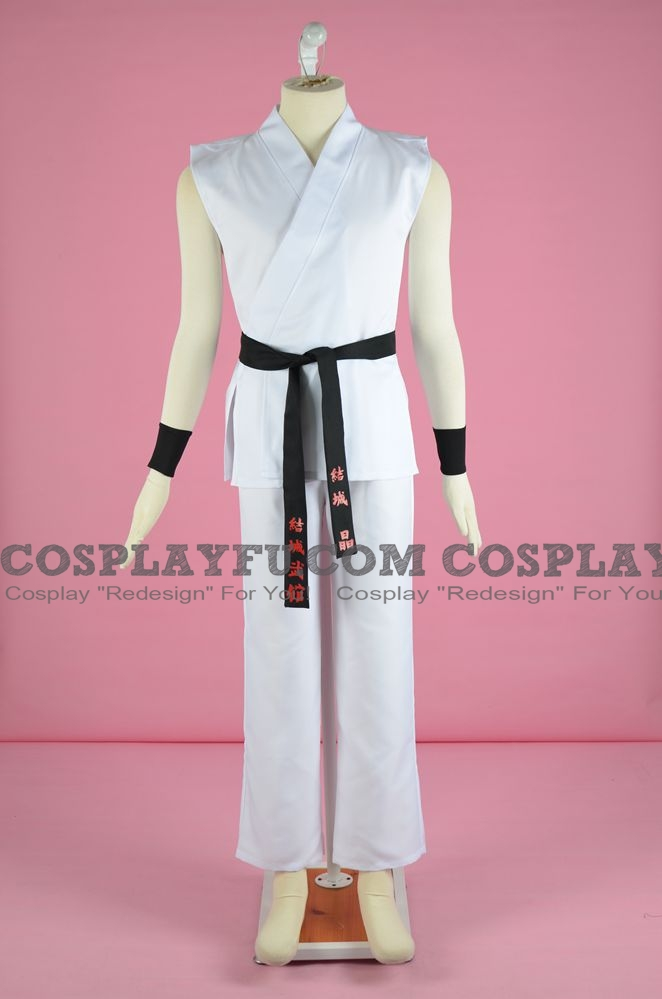 Akira Cosplay Costume (White) from Project X Zone 2