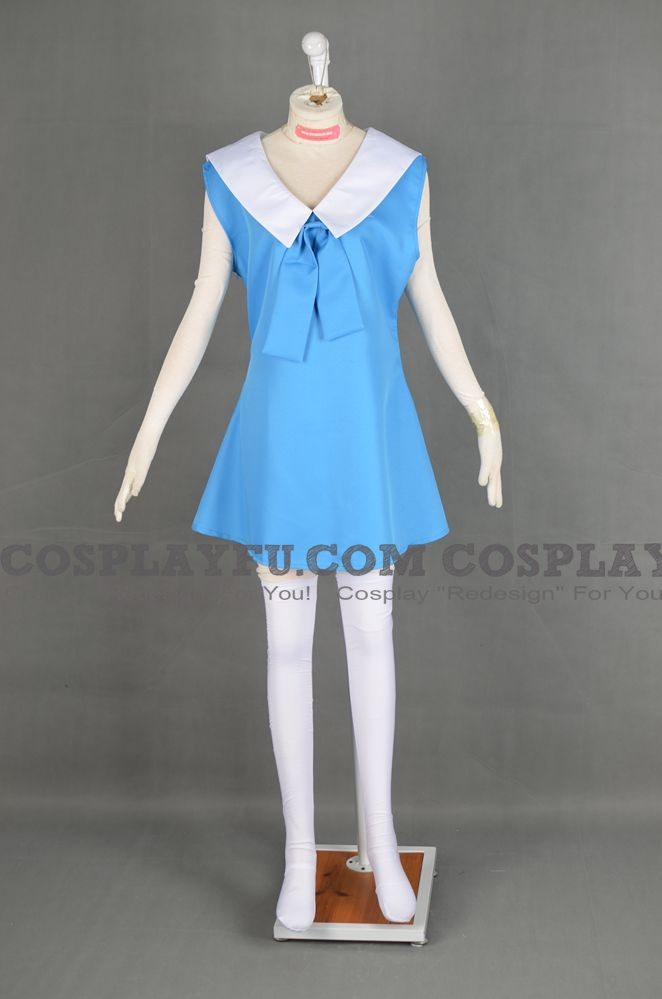 Molly Cosplay Costume (Young) from Pokemon The Movie 3 The Spell of the Unown