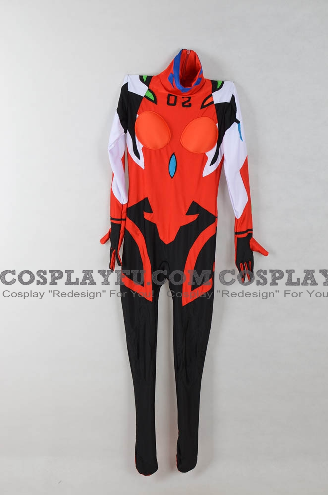 Asuka Cosplay Costume from Evangelion 3.0 You Can (Not) Redo