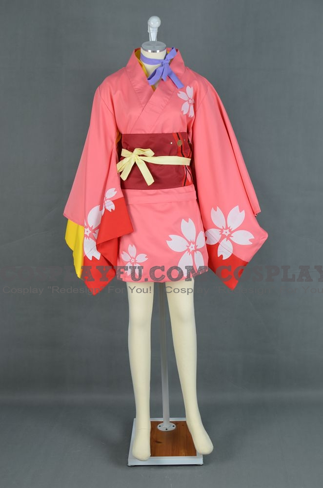 Kōtetsujō no Kabaneri Mumei Kostüme (Kimono)