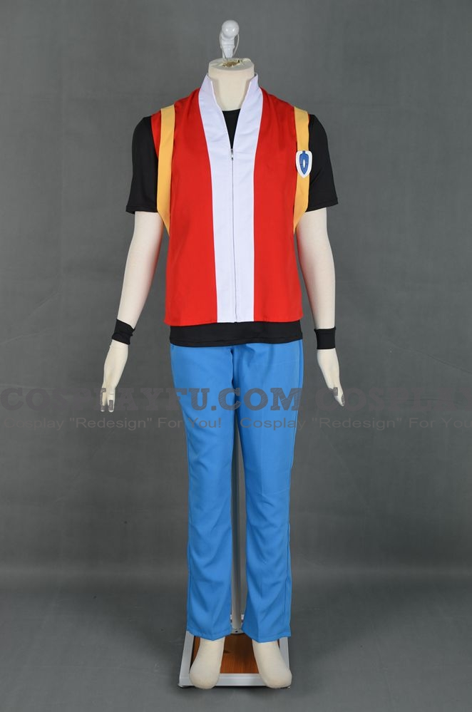 Red Cosplay Costume (Pokemon Red and Blue) from Pokemon