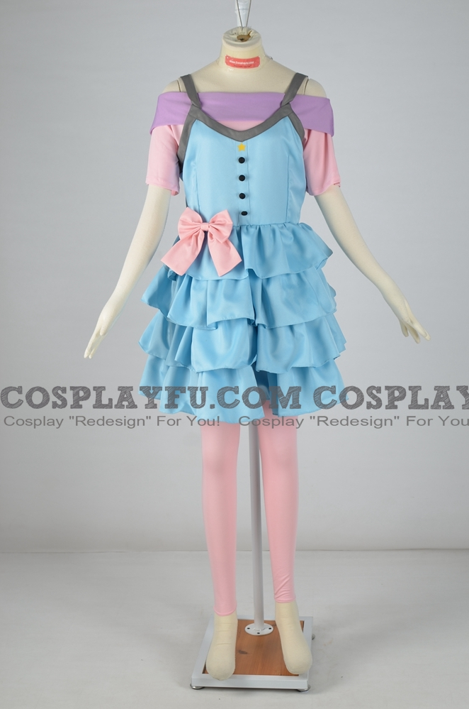 Stella Cosplay Costume from Winx Club Gardenia