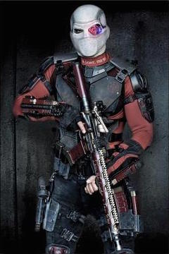 Deadshot Cosplay Costume from Suicide Squad Film 2016
