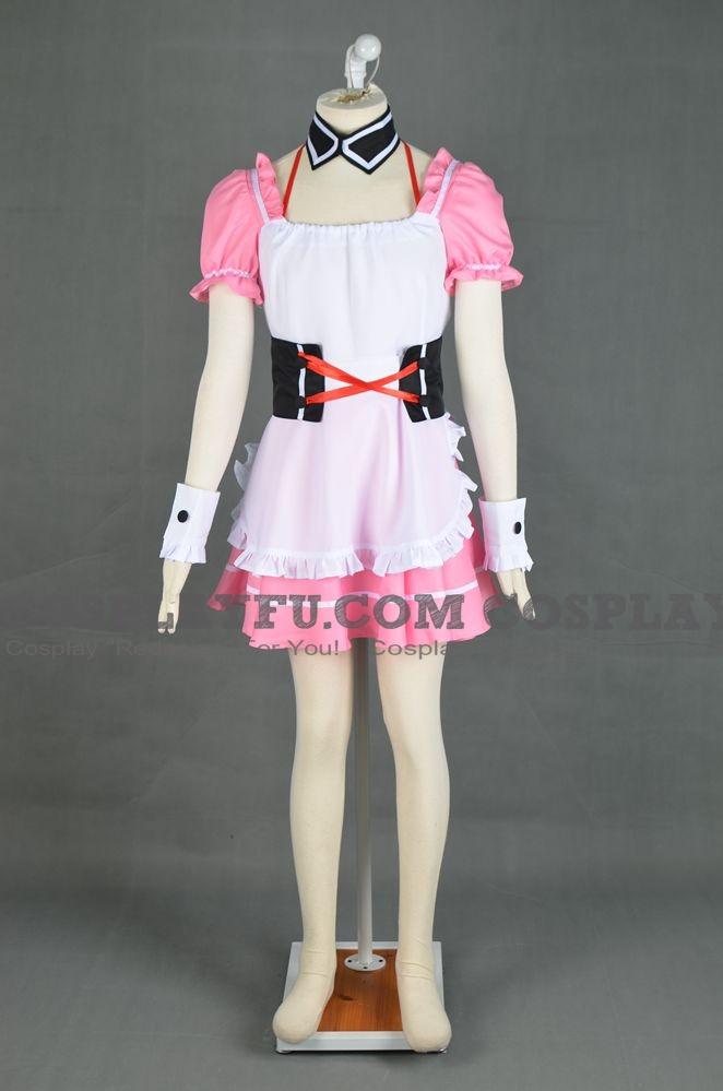 Mikuru Cosplay (Red Maid Costume) from The Melancholy of Haruhi Suzumiya