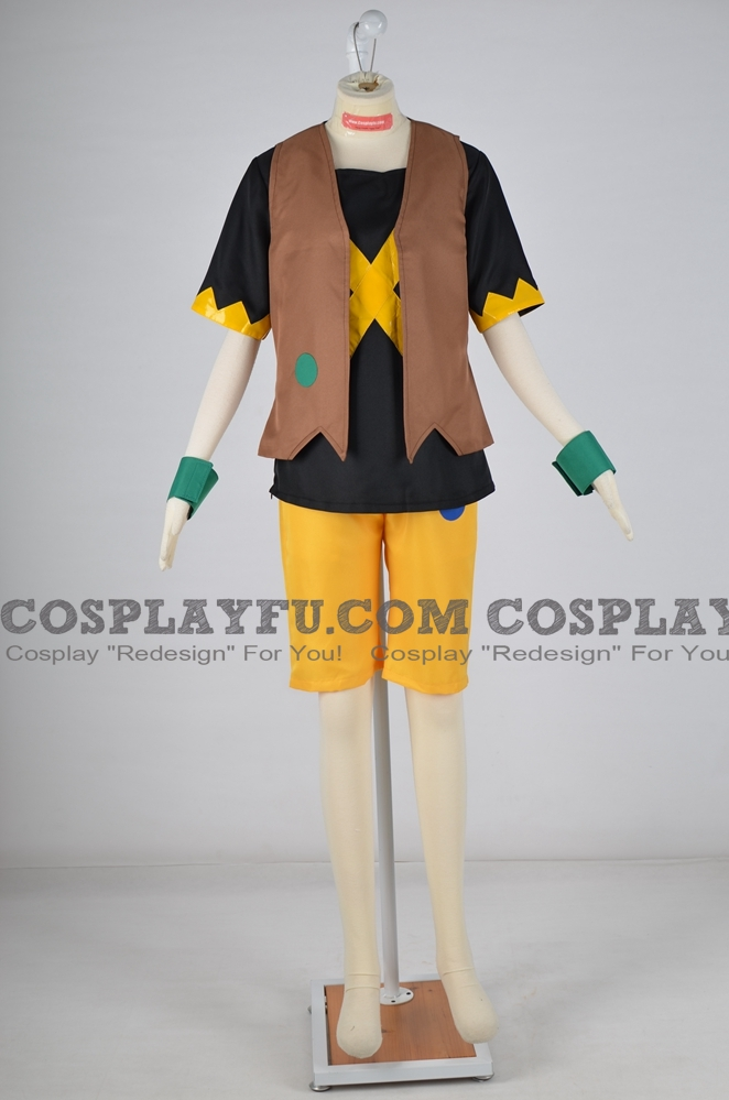 Torajiro Cosplay Costume from Digimon Universe: Appli Monsters