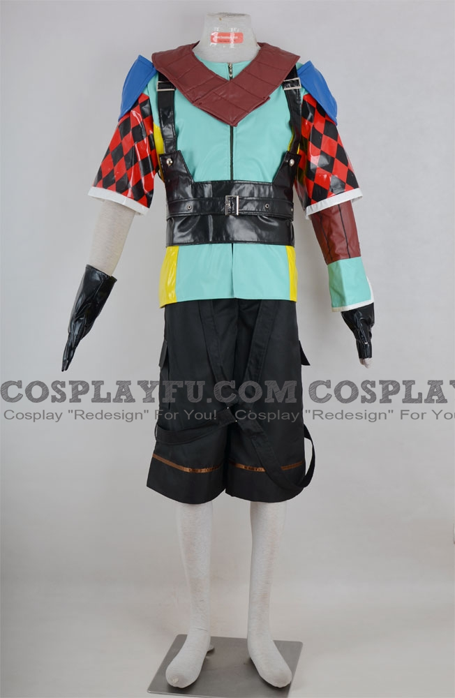 Shuyin Cosplay Costume from Final Fantasy X-2
