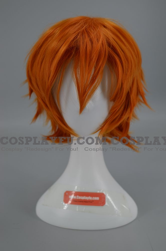 Orange Wig (Spike,Short Naoshi)