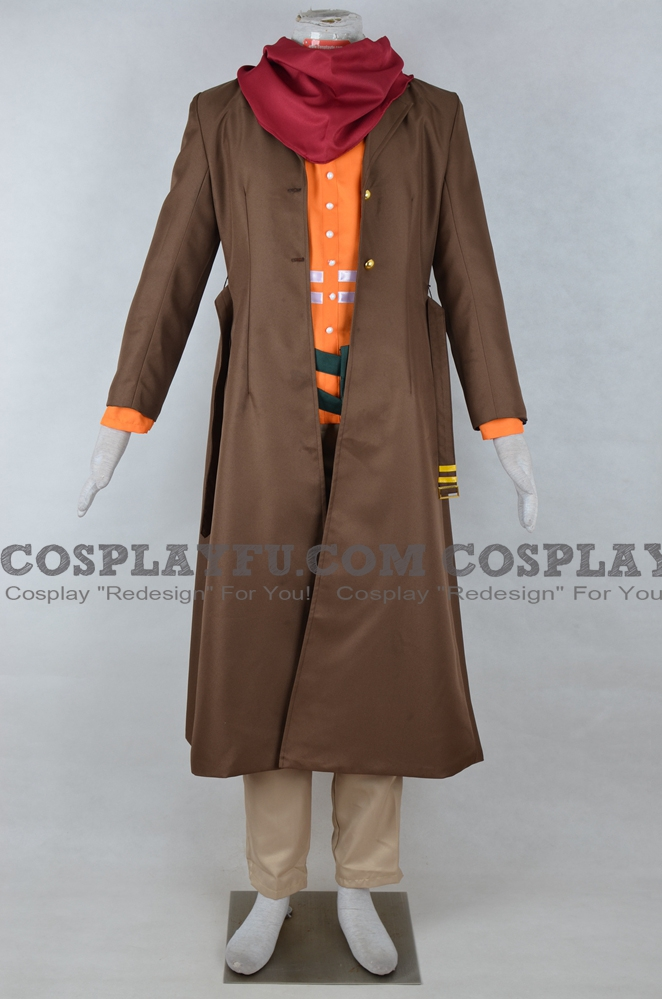 Rufus Cosplay Costume from Deponia