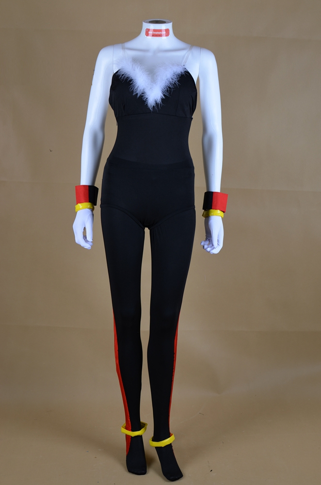 Female Shadow Cosplay Costume from Sonic the Hedgehog