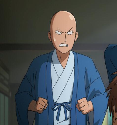 One Punch Man Saitama Costume (Kimono)