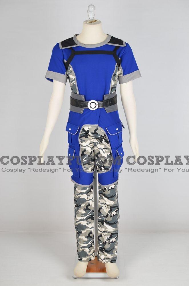 Kaidan Cosplay Costume from Mass Effect