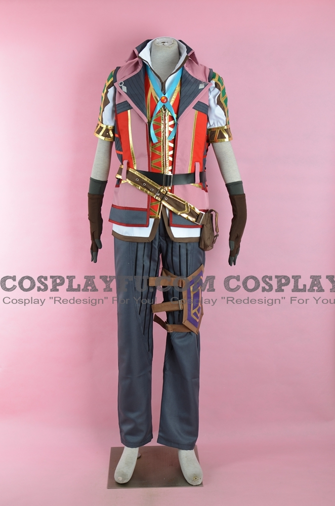 Adol Christin Cosplay Costume from Ys VIII: Lacrimosa of Dana