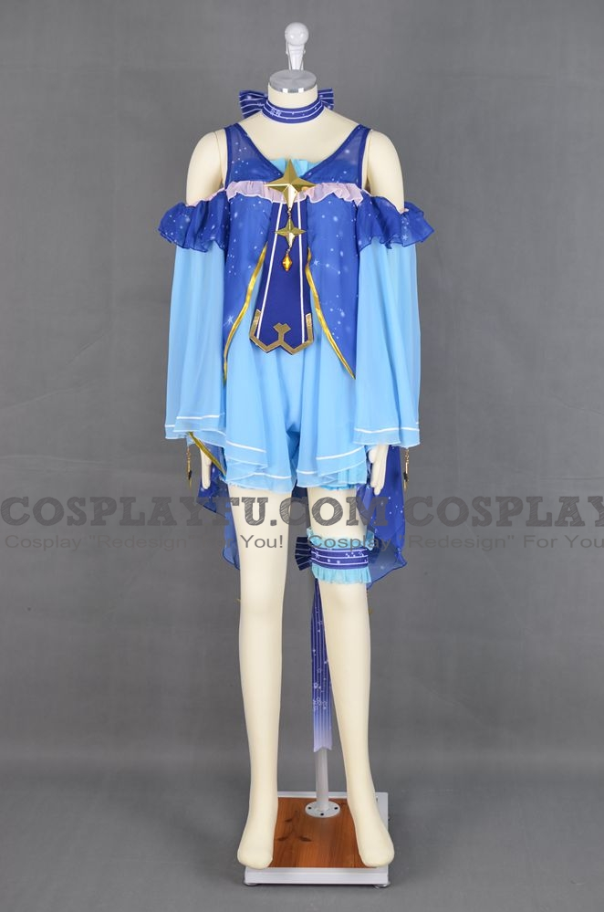 Miku Cosplay Costume (Snow Miku 2017 2nd) from Vocaloid