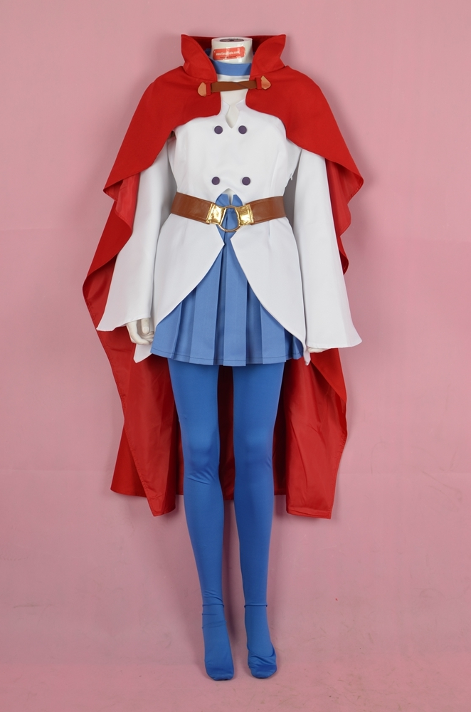 Shiny Chariot Cosplay Costume from Little Witch Academia