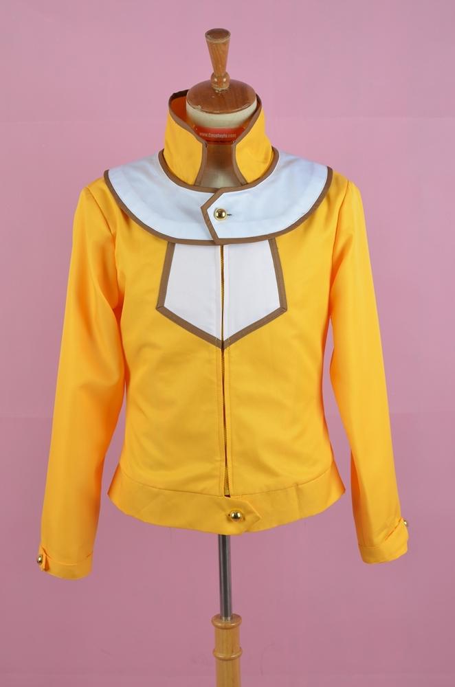 Yuki Jacket (Yellow) from Yu Gi Oh