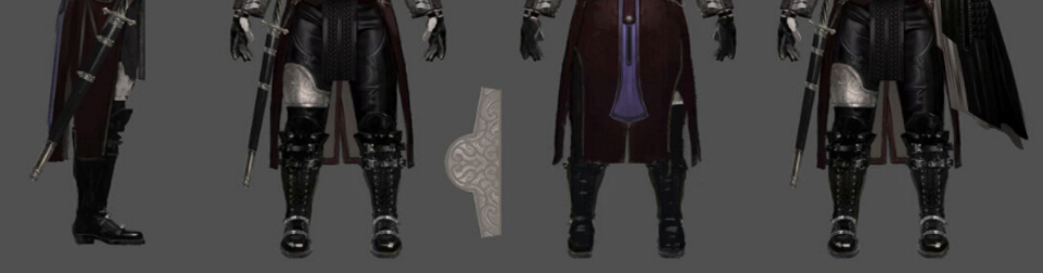 Titus Shoes from Kingsglaive: Final Fantasy XV