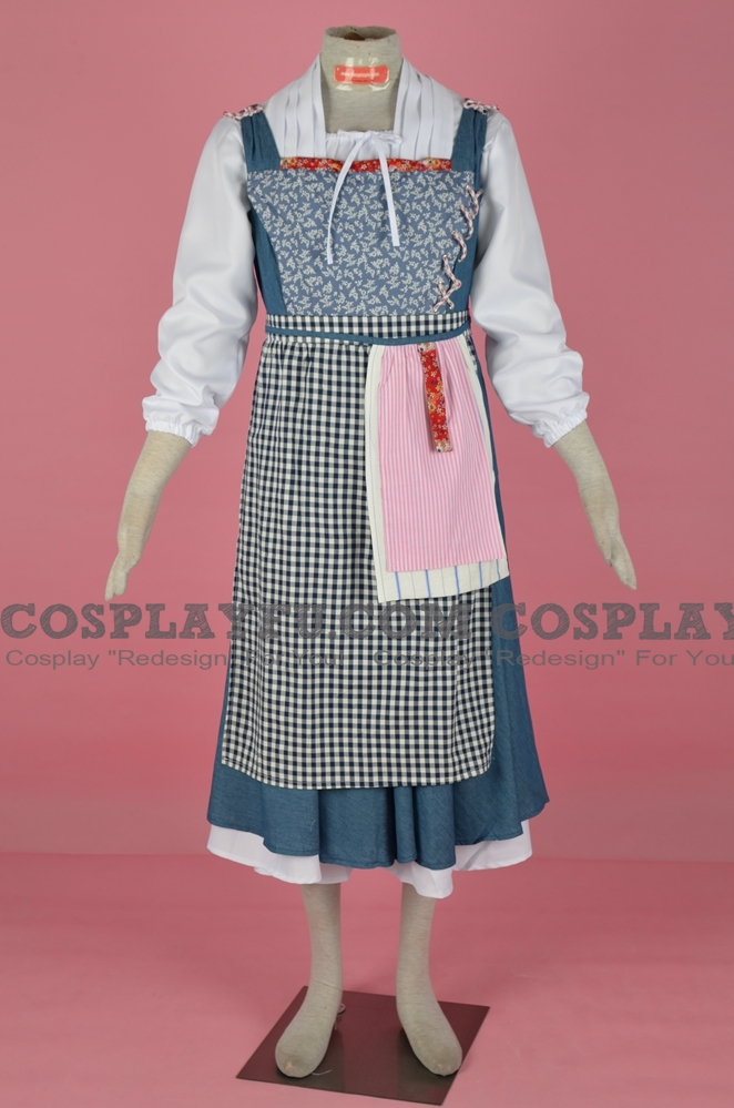 Belle Maid Cosplay Costume (2017 film) from Beauty and the Beast