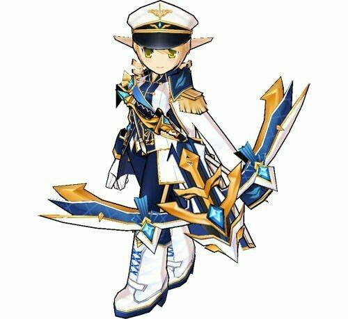 Rena Cosplay Costume (Navy) from Elsword