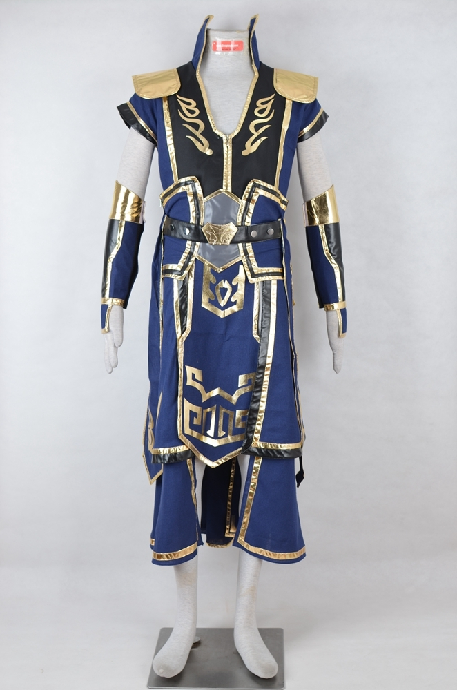 Xiahou Dun Cosplay Costume (Parts) from Dynasty Warriors