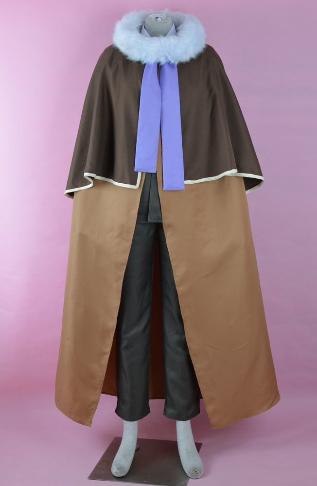 Jean Cosplay Costume from Professor Layton and the Last Specter