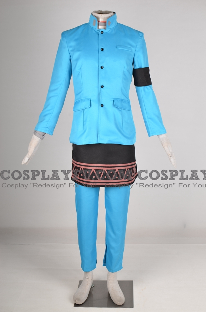 Eikichi Cosplay Costume from Persona 2: Innocent Sin