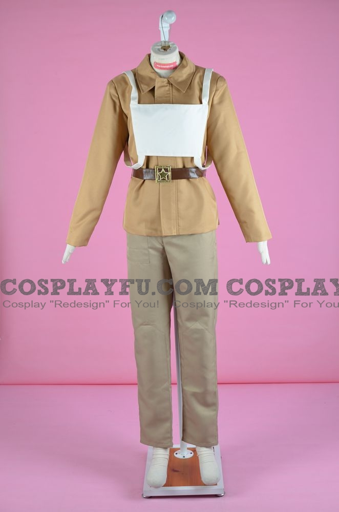 Nikolai Cosplay Costume from Call of Duty: World at War