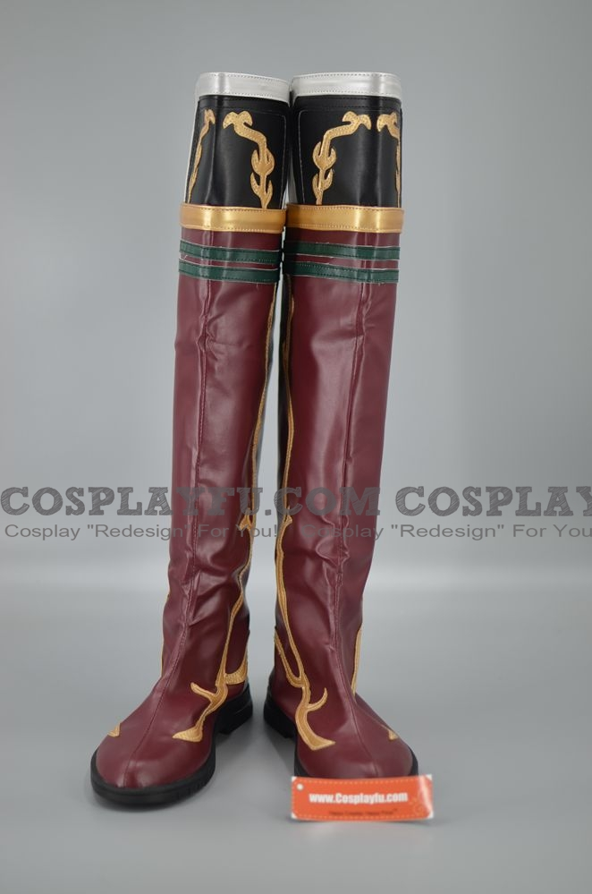 Sun Ce Shoes (B070) from Dynasty Warriors