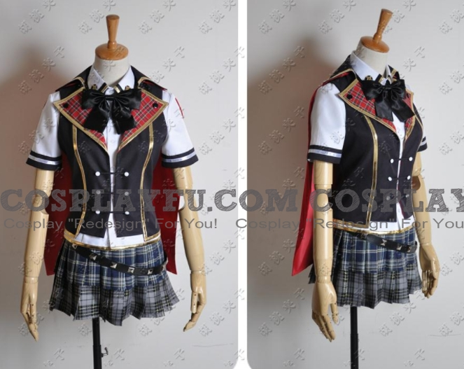 Final Fantasy Type-0 Queen Kostüme (Sommer-Uniform)