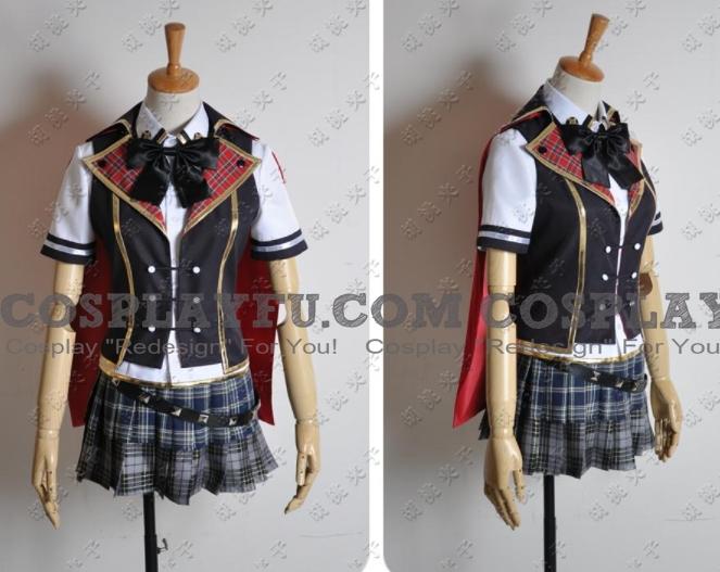 Queen Cosplay Costume (Summer Uniform) from Final Fantasy Type 0
