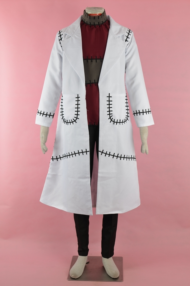 Franken Stein Cosplay Costume from Soul Eater: Monotone Princess
