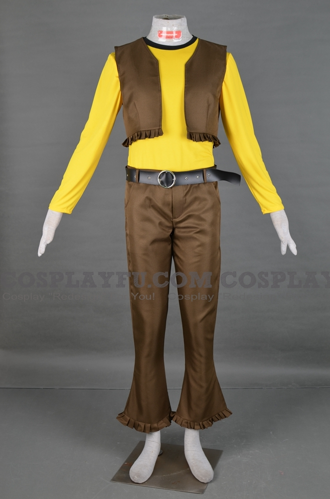 Duke Fleed Cosplay Costume (2nd) from Grendizer