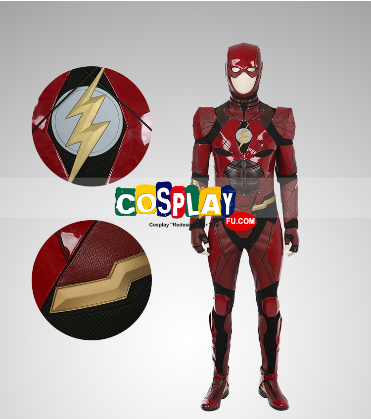 DC comics The Flash Costume