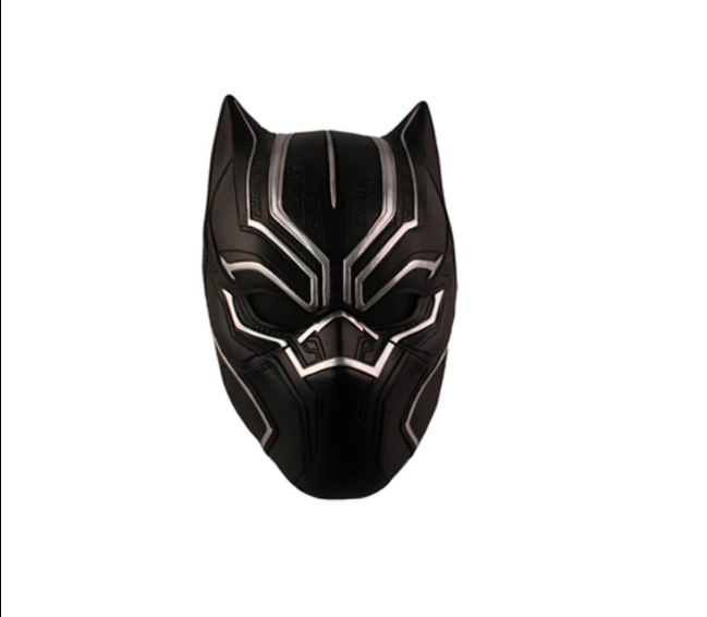 Black Panther Cosplay Costume Helmet from Black Panther 2018
