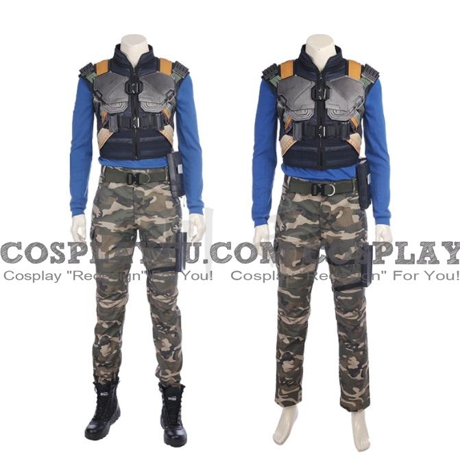 Erik Killmonger Cosplay Costume from Black Panther 2018