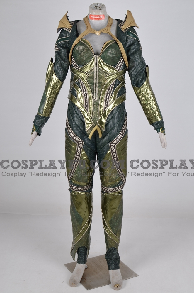 Mera Cosplay Costume (2018 Movie) from Aquaman
