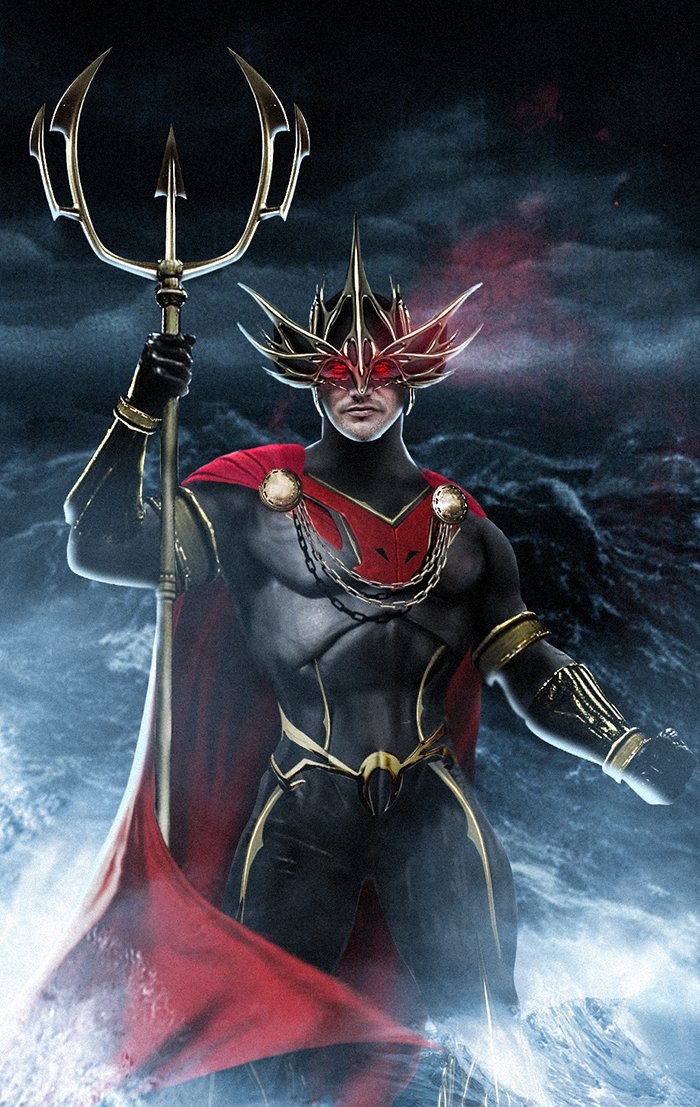 Ocean Master Cosplay Costume (2018 Movie) from Aquaman